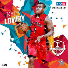 Nba Divisions Map Kyle Lowry Eastern All Stars Starters 2015 Nba All Star Game