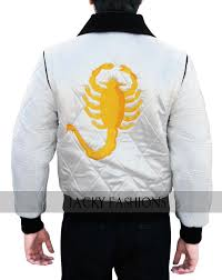 drive jacket replica mens drive scorpion ryan gosling replica jacket embroidered