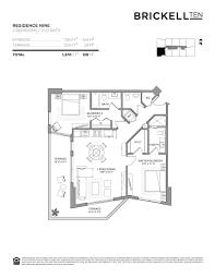 Jade Brickell Floor Plans by Brickell 10 Worldwide Properties