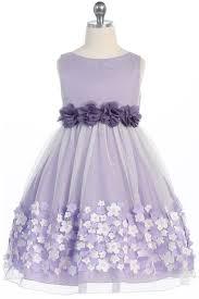 lilac flower dresses