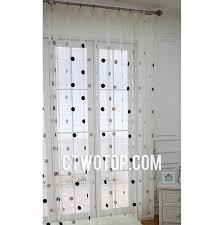 White Polka Dot Sheer Curtains Polka Dot Sheer Curtains Designs Mellanie Design