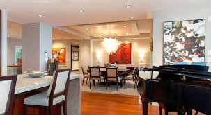 modern large design of the modern penthouse living rooms that has