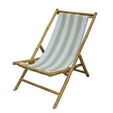 Patio Sling Chair Zew Outdoor Foldable Bamboo Patio Sling Chair With