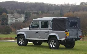 land rover 110 truck report new land rover defender could be built in india share