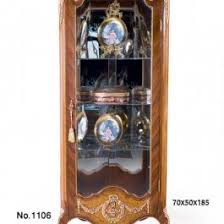 Antique Curio Cabinet With Clock Curio Cabinets Archives Antique Recreations