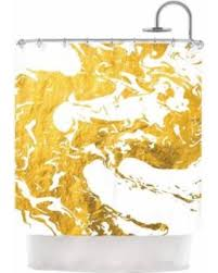 Kess Shower Curtains Summer Sale Kess Inhouse Kess Original U0027gold Ink On Water U0027 Shower