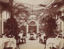 mark twain was one among others who enjoyed the new dining rooms