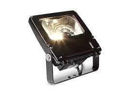 evolve led flood light efna current powered by ge