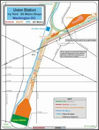 Dc Metro Rail Map by Railfan Guide To Washington Dc Union Station