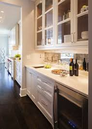 kitchen butlers pantry ideas a traditional butler s pantry is tucked the kitchen of