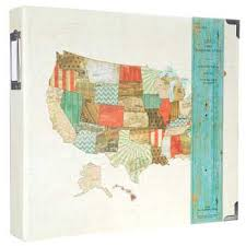 3 ring photo album us map 3 ring album 12 x 12 hobby lobby 770529