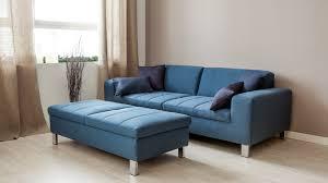 canap bleu ciel canap cuir bleu great canap maison du monde