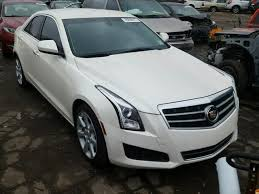 2013 cadillac ats white 1g6aa5rx5d0167199 2013 white cadillac ats on sale in mi