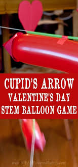 Challenge Physics Cupid S Arrow Balloon Physics Challenge Physics Arrow And