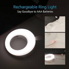 lights when phone rings amazon com ring light for camera rechargable battery selfie led