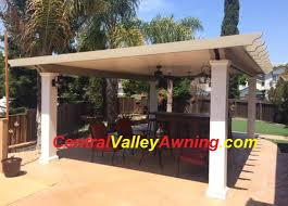Aluminium Patio Roof Central Valley Awning And Patio