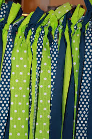 Lime Green Polka Dot Curtains Lime And Navy Blue And Green Polka Dot Fabric By Prettimini