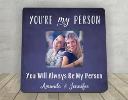 gift for friend christmas gift for friend you u0027re my person best