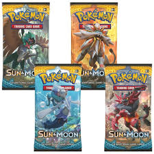amazon com pokemon tcg sun u0026 moon booster pack collection moon