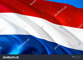 Hollanda Flag Holland Flag Flag Holland 3d Waving Stock Illustration 739377784