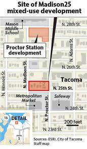 Bcra Tacoma by Six Story Madison25 Apartment Building To Rise Next To