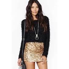 sequin skirt london gold crush sequin skirt polyvore