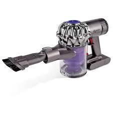 Dyson Vacuum For Hardwood Floors The Dyson Cyclonic Suction Hand Vacuum Hammacher Schlemmer