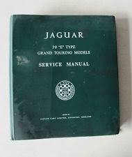 jaguar e type manual ebay