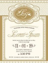 marriage invitation wedding invitation card format free vector 217 894 free