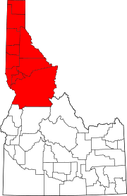idaho zone map idaho panhandle