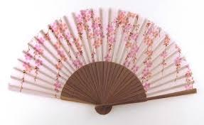 japanese fan dawningview japanese handheld folding fan cherry blossoms cascade