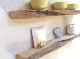 Driftwood Floating Shelves by Floating Shelves Wood Driftwood Style Set Of 2 Wall Shelves Rustic