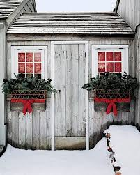 Rustic Christmas Decorations For Outside by Christmas Exterior Holiday Decor Curb Appeal Front Door