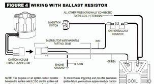 mallory distributor wiring diagram