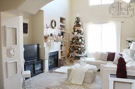 Christmas Livingroom by Thrifty And Chic Diy Projects And Home Decor