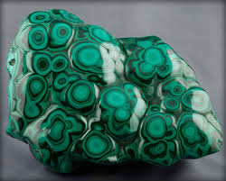 intensely green malachite crystals look like they re covered in