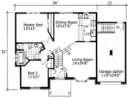 two bedroom cottage house plans plan 90216pd 2 bedroom house plan with class bedrooms