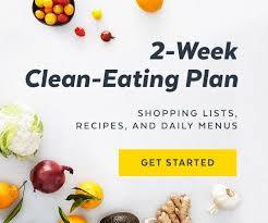 clean eating recipes 2 week plan popsugar fitness