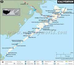 map of galveston galveston map galveston map