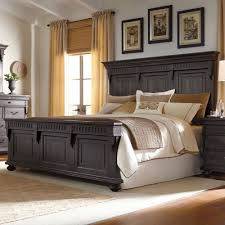 Pulaski Bedroom Furniture Kentshire Wood Panel Bed In Charcoal For The Home Pinterest
