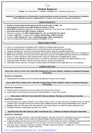 Scientific Resume Examples by Resume Sample For Marketing U0026 Market Research 1 Career