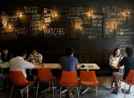 Restaurant Design Concepts Hatched A Casual Restaurant In Singapore That Serves Breakfast