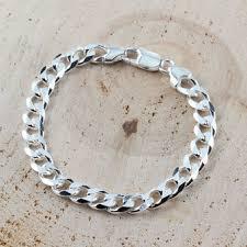 bracelet link styles images Men 39 s silver bracelets heavy chunky styles incl curb byzantine jpg