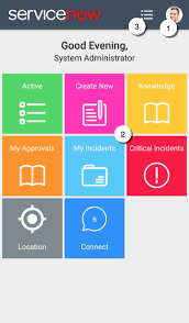 mobile app ui home servicenow docs