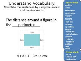 introduction to powerpoint math chapter 11 introduction to perimeter and area grade 3 powerpoint