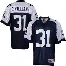 reebok nfl equipment dallas cowboys 31 roy williams youth
