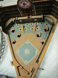 wooden baseball pinball game circa 1950 u0027s 1960 u0027s ebay pinball