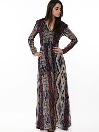 maxi dresses online buy rena ikat print maxi dress for women women s multi maxi