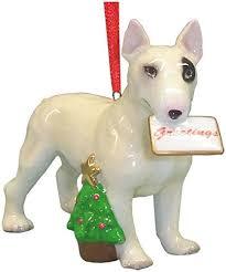 bull terrier ornament statue