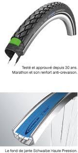 chambre à air increvable système anti crevaison schwalbe professional bike tires